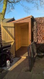8 x 4 ft garden shed