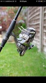 Carp fishing / x2 daiwa reels x2 greys rods