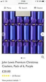 John Lewis crackers