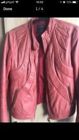 Real leather Cavalli jacket