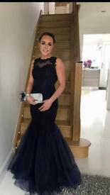 Halo Fishtail Prom Dress