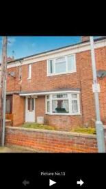 3 bedroom terraced house to rent in Peterborough, PE46ED, Walton; £170 per week rent