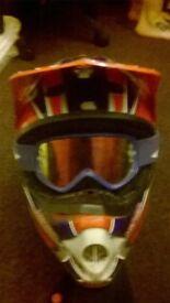 motocross kbc helmet