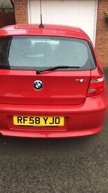 BMW 118- Excellent Condition, MOT until May 2018, Master service, New Brakes Pads, New Brake Discs