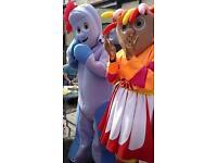 2 Mascots - Upsy Daisy & Iggle Piggle
