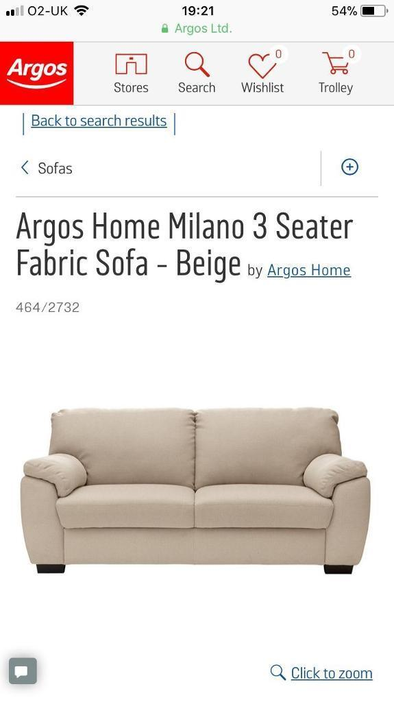 Fantastic 2 Argos Sofas 1 Sofa Bed In Bournemouth Dorset Gumtree Pdpeps Interior Chair Design Pdpepsorg