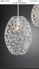 Next lexy ceiling pendant