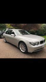 BMW 745i Saloon Silver Automatic 2002