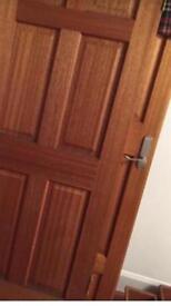 Solid wood doors x 3