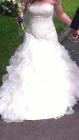 Amanda Wyatt Cadiz wedding dress size 10