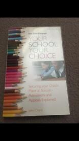 School admissions and appeal book