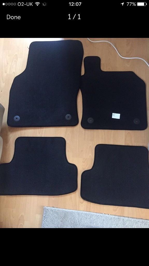 Brand new Audi A3 mats
