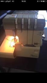 Over locker sewing machine