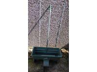 Fisons Garden seed/fertilizer drill push along