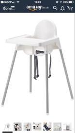 2 Ikea High Chairs