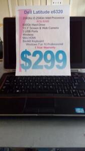 Dell Latitude E6320 i5 Intel - 8Gb - 500Gb HDD - Backlit Keyboard  - 1 Year Warranty