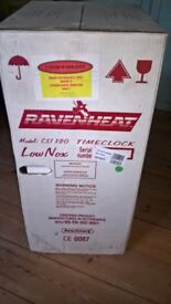 Ravenheat CSI 120 low nox boiler,With THREE year warranty.