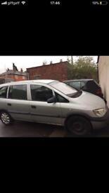 Vauxhall Zafira 7 seater 1.6 2003 reg