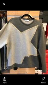 Versace collection star studded jumper