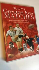 Rugby's greatest ever matches DVD