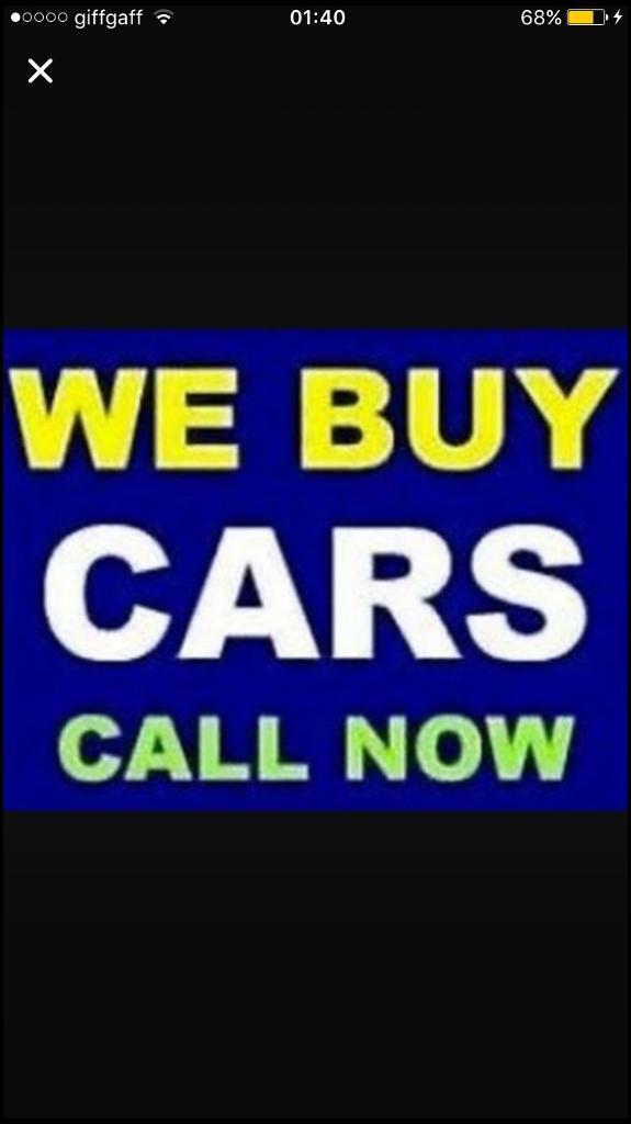 We buy used cars with or without mot top prices paid for cash 250 ...