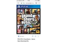 WANTED: GTA 5 for PS4