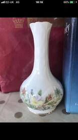 Aynsley flower vase