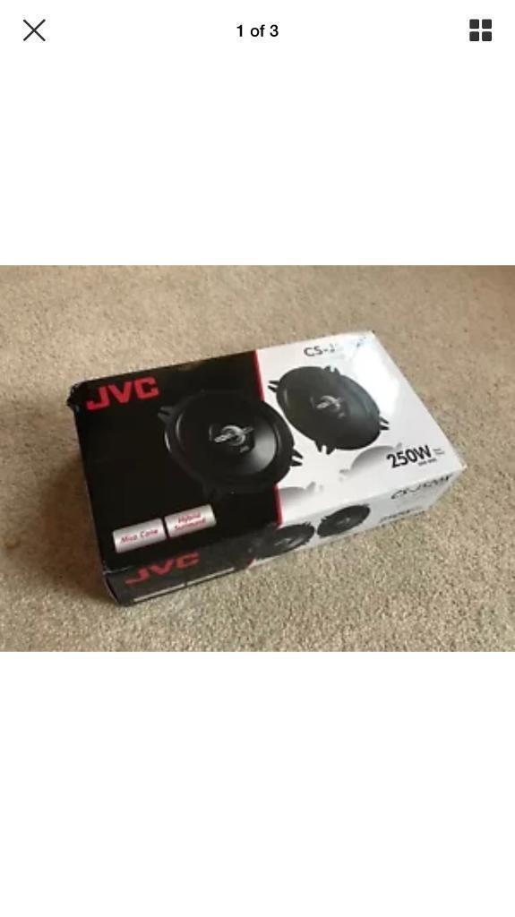 Brand new JVC 5.25 inch speakers