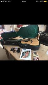 New Famous Yamaha FG700S Guitar With Digital Tuner Case Book Etc Only £150 For All