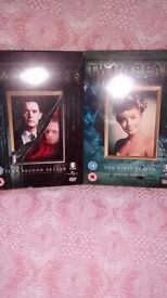 DVDs Twin Peaks,24,Shameless,CSI Miami,Boston Legal