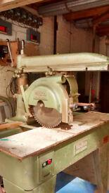 wadkin radial arm saw