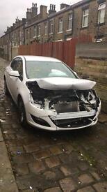 Damaged 2013 Vauxhall Astra Energy
