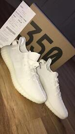New White Yeezy 9.5 with Box and Receipt