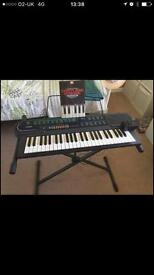 casio electronic keyboard With Stand!