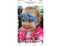 FACE PAINTING children / adult glitter parties