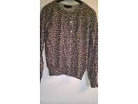 two cardigan tops size 12
