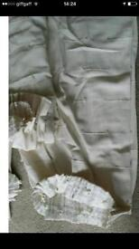 4 pairs of short curtains £20.00 for all/ Ivory/ v.good cond