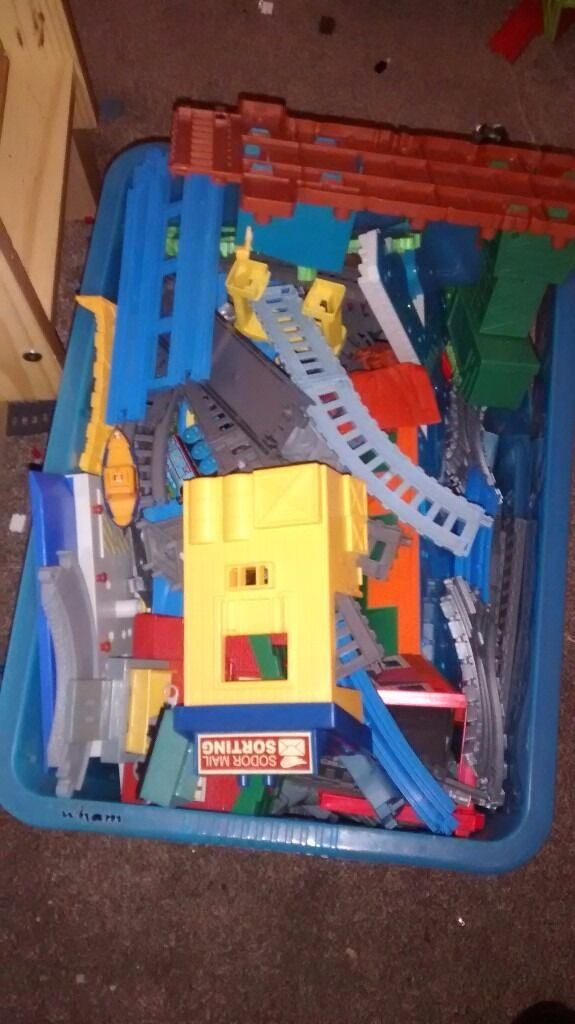 Thomas train setsin Sheffield, South YorkshireGumtree - Various different Thomas sets from road and rail Trackmaster and take a long and wooden trains more then 40 different sets my sons have out grown Thomas so selling and too much to photo everything