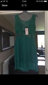 Green occasion dress