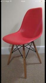 High Quality Retro Designer Style Side Dining Chair Lounge Living Room Office Chair RRP £35
