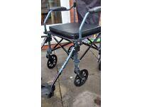 wheel chair. lightweight and folds