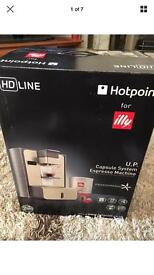 Hotpoint for Illy HD LINE U.P. espresso machine NEW & UNUSED BOXED RRP£149.99