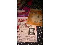 sheet music 1940s to 1960s
