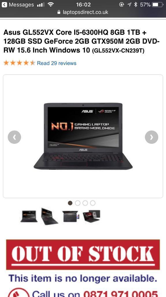 Brand new gaming laptop damaged in transit