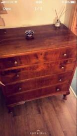 Solid wood Chest of drawers - antique?!