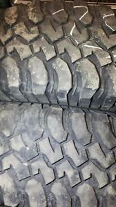 255/75/17 Used all terrain tires