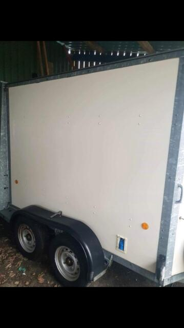 Ifor Williams box trailer with window cleaning system | in Macclesfield, Cheshire | Gumtree