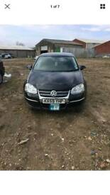 Vw jetta 1.6 2009 tdi black ec cayc breaking and spares