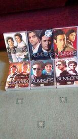 Numbers complete seasons 1-6