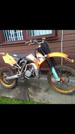 Ktm85 sx 2006 looking for a swap for bigger bike for my wee man